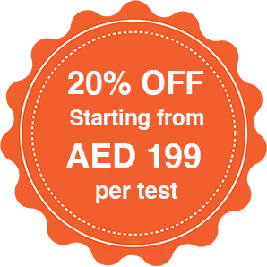 Book your PCR test at home for AED 199 only